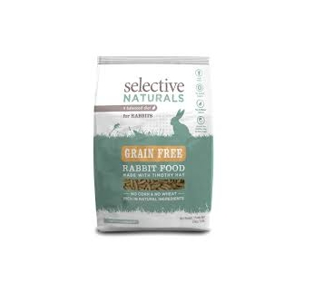 Grain Free Rabbit Food with Timothy Hay 1,5kg