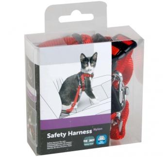 Привязной ременъ для кошек