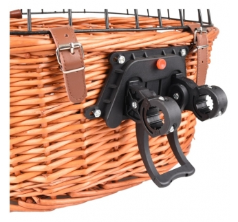 Bike Basket Canna Naturel