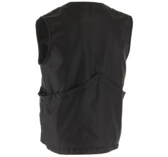Gappay Lühike Lai Vest Must XL