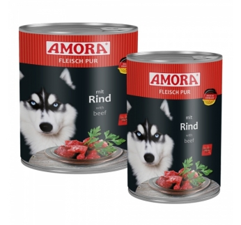 Amora Canned Dog Food (Beef) 400g