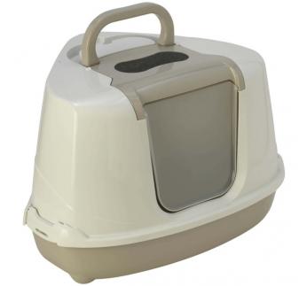 Thor туалет-домик угловой Flip с угольным фильтром, 55х45х38см