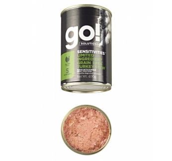 Go! Sensitivities Limited Infredient Grain-free Turkey Stew for Dogs 400g