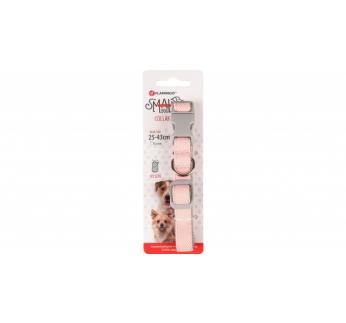Ошейник для собаки розовый 15мм 25-43см