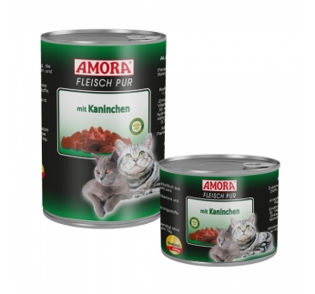 Amora Canned Cat Food (Rabbit) 400g