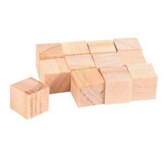 Gnawing Blocks Nibo 1,5x1,5cm 12pcs