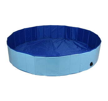 Doggy Splatter Pool Blue 120x30cm