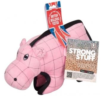 "Игрушка для собак ""Strong Stuff Hippo"" 28см"