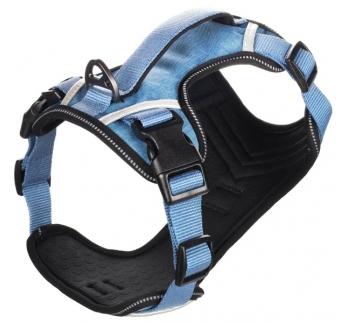 Шлейка Heron XXL, синий, 54-74см, 25мм
