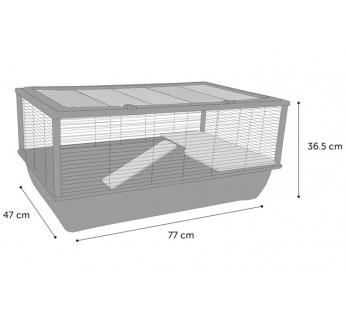клетка Elsa 77x47x36,5 см