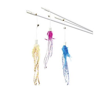 "Cat Toy Dangler ""Kitty Kidz"" 50cm"