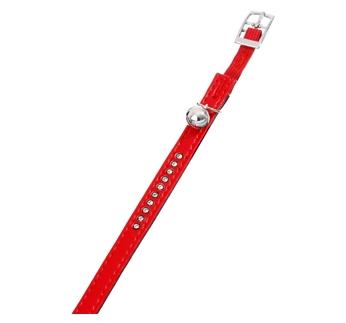 Cat Collar Monte Red 30cm x 11mm