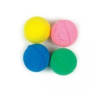 Игрушка для кошек Мячик, мягкая резина