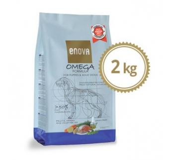 ENOVA Omega Formula Teraviljavaba Kuivtoit Koerale 2kg