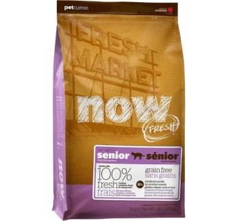 NOW Fresh Senior - Seenior kassile (teraviljavaba kuivtoit) 1,81kg