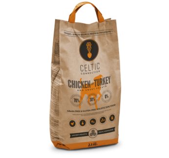 Celtic Connection Chicken & Turkey for Dogs 2,5kg