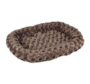 Лежак Cuddly, коричневый 48x37см