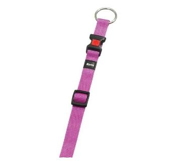 Collar Nylon Pink 20-35cm 10mm
