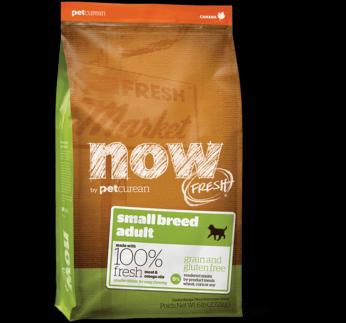 NOW Fresh Väikest tõugu täiskasvanud koerale (teraviljavaba täissööt) 2,72kg