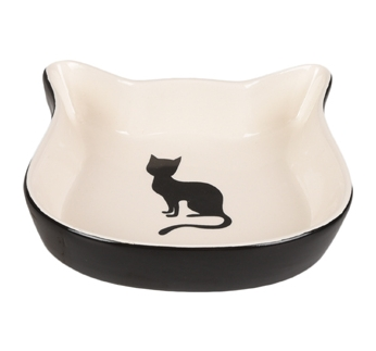 Ceramic Bowl Nala Duo Black/White 12,5cm 220ml