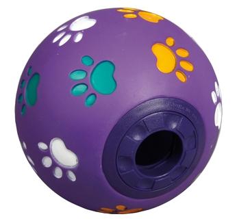 Мячик с лакомствами 11см