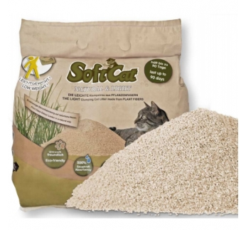 Soft Cat Litter 17l