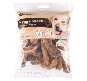 Nature Snack сушеные куриные шеи 200г