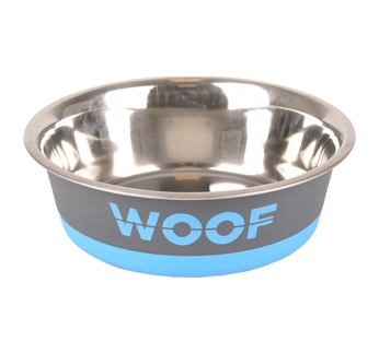 "Kauss ""Woof"" Hall/Sinine 800ml 17cm"