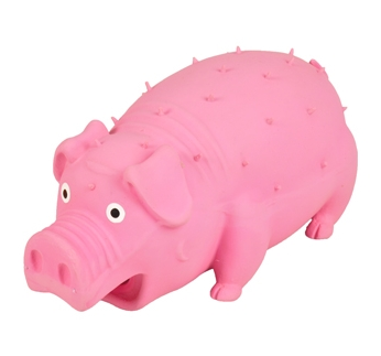 Latex pig with Spikes 18cm