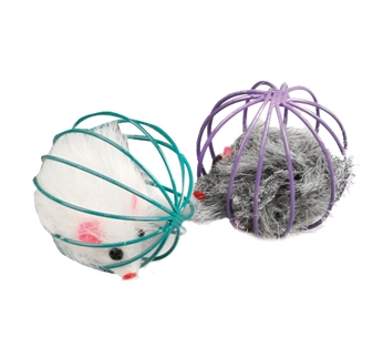 Wire Ball with Mouse 6cm