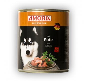 Amora консервы для собак - индейка 800г
