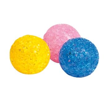 "Игрушка для кошек, Мячик, ""Glitter Ball"" 3,75см"