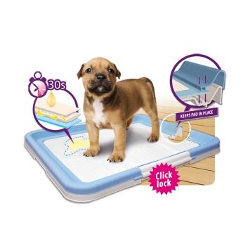 Puppy Training Mat M 63x47cm + Pads 10pcs