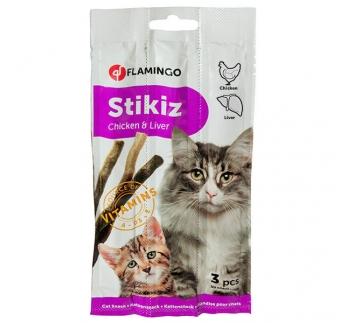Flamingo StickiZ with Chicken & Liver 3pcs