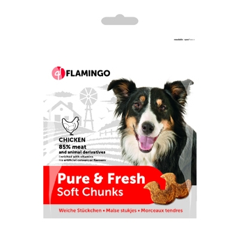 Pure & Fresh Soft Chunks Chicken 75g