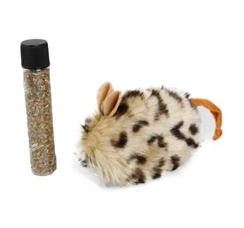 Cat Toy Plush + Catnip 10cm