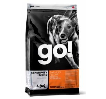 GO! Sensitivity+Shine Lõhekalaga Kuivtoit Koerale 2,72kg