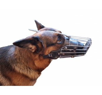 Klin Metal Muzzle No.6 for German Shepherd
