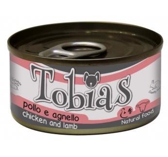 Tobias консервы для собак -  курица и овцы 85г