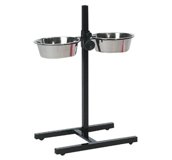 Bowls On a Stand 2x1500ml
