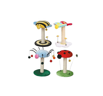 Scratching Pole Lucky Bugs 35x35x47
