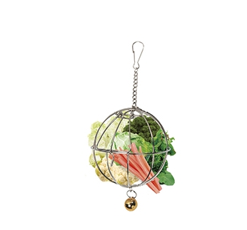 Vegetable Basket for Rodents ⌀9cm