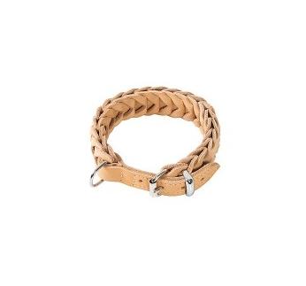 Klin Braided Collar Beige 52-60cm