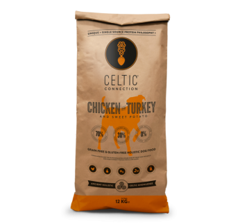 Celtic Connection Täissööt Koerale Kana & Kalkun 12kg