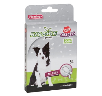 Biocide Drops for Dogs 5pcs