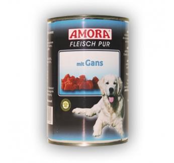 Amora консервы для собак - гусь 800г