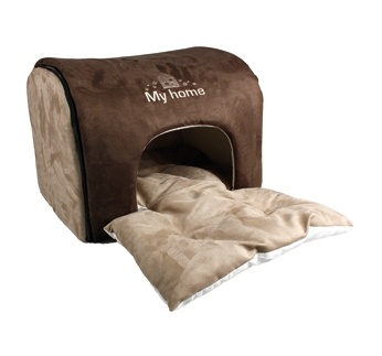 "Dog House ""My Home"" Brown"