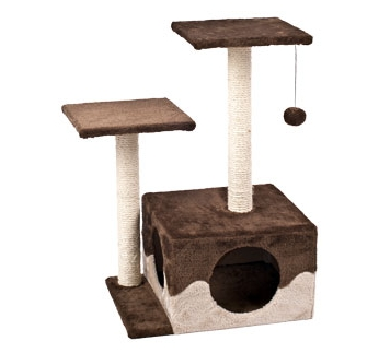 Cat Scratching Pole Kangri Brown 44x33x70cm