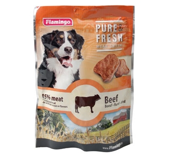 Pure & Fresh Soft Chunks Beef 75g