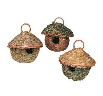 Breeding Nest for Small Parrots 11x12cm